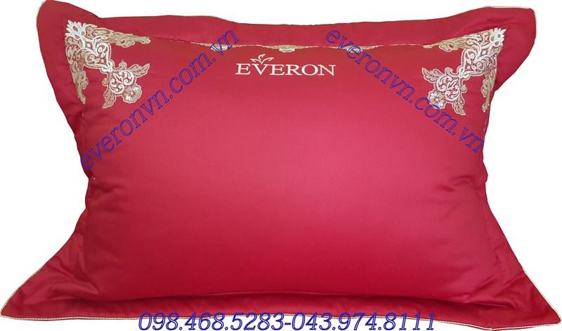 vỏ gối màu đỏ everon es 1604