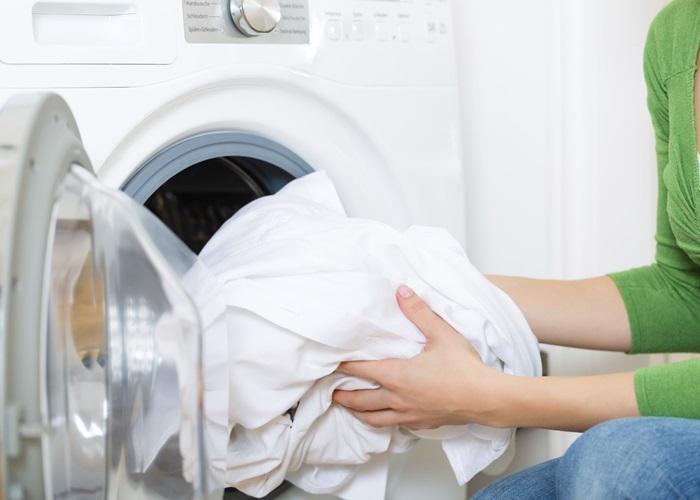 giặt chăn ga