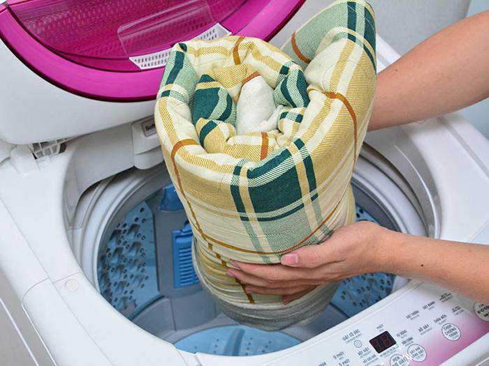 giặt chăn ga gối